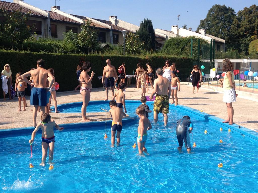 fête de la piscine 2014, côté pataugeoire