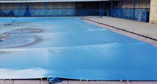 débâchage piscine