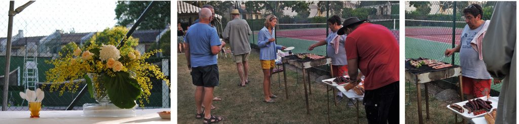 fête du tennis 2017, buffet et barbecue