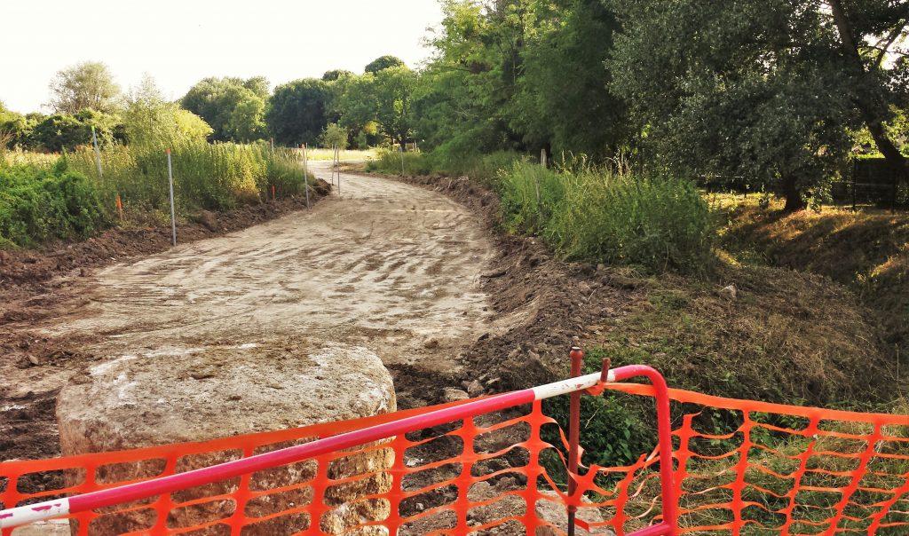 travaux coulée verte juillet 2017