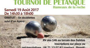 bannière tournoi pétanque 2017