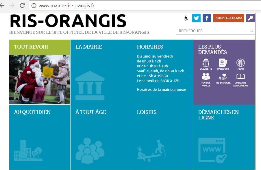 Site web Mairie de Ris-Orangis Les infos et les services de la Mairie de Ris-Orangis