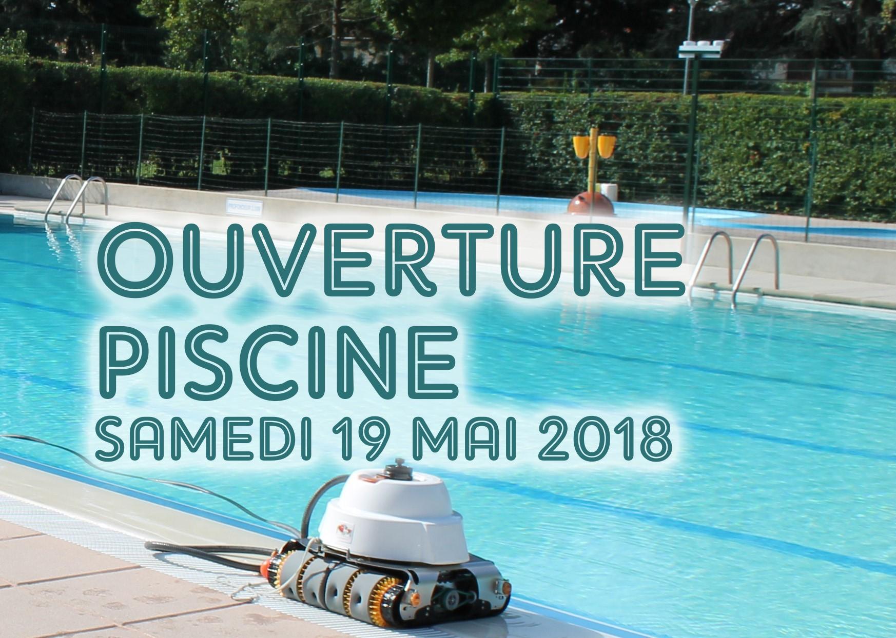 Ouverture 2018 piscine des Hameaux de la roche: Samedi 19 Mai, 11h