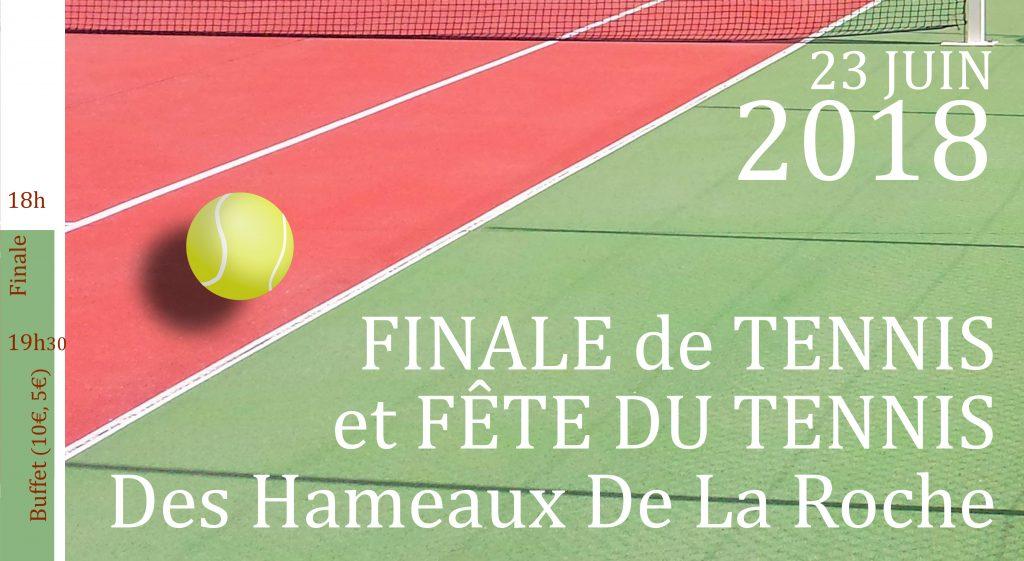 Tournoi et Fête du TENNIS 2018 @ Résidence Les Hameaux de la roche