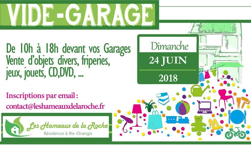 VIDE-GARAGE aux Hameaux 2018 @ Résidence Les Hameaux de la Roche