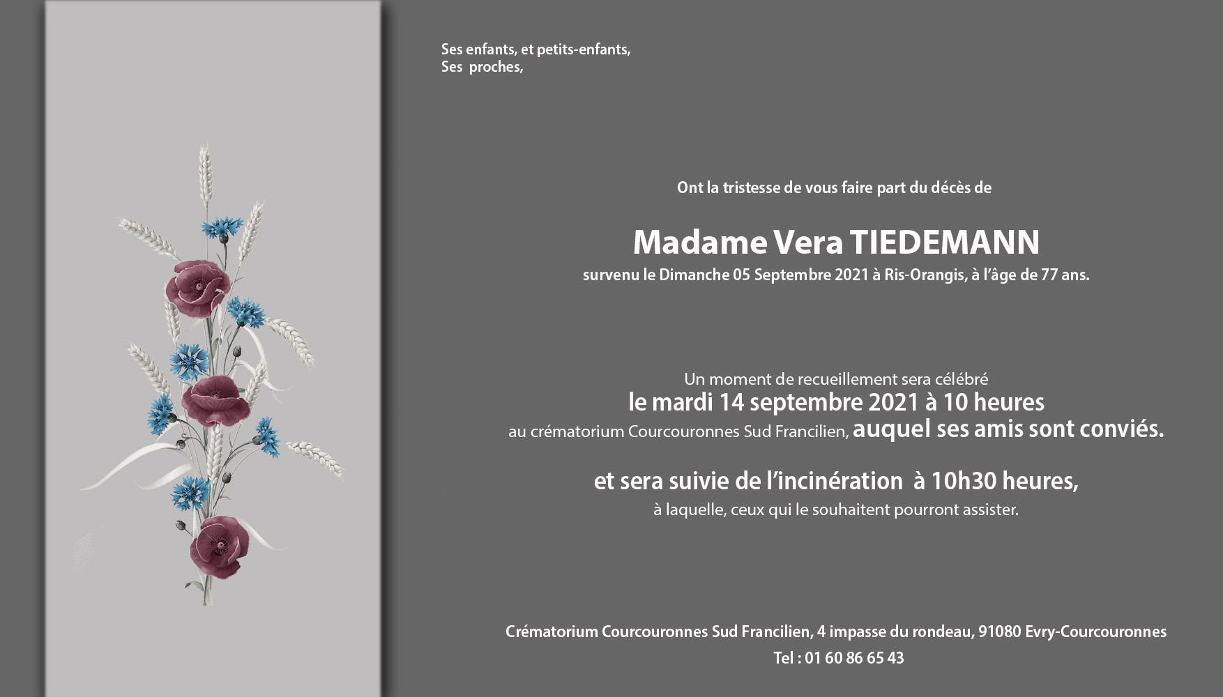 faire-part-deces-Vera-Tiedemann-sept2021